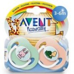 PHILIPS AVENT - Set 2 suzete din silicon Design 3+
