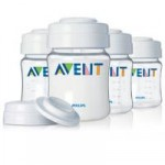 PHILIPS AVENT - Set de stocare - 4 biberoane 125 ml