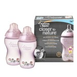 Tommee Tippee - Closer to Nature Biberon Decorat 340 ml x 2