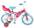"Toim - Bicicleta 14"" Mickey Mouse Club House, fete"