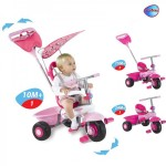Smart Trike - Tricicleta Smart Trike Fresh 3 in 1 ROZ