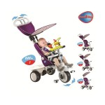 SMART-TRIKE RECLINER STROLLER 4 IN 1 PURPLE