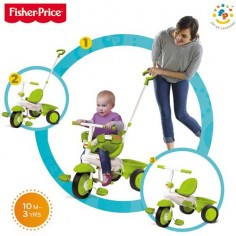 Fisher-Price - Tricicleta 3 in 1 Classic Verde