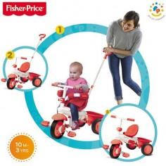 Fisher-Price - Tricicleta 3 in 1 Classic Rosu