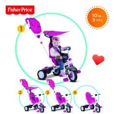 Fisher-Price - Tricicleta 3 in 1 Charisma Roz