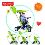 Fisher-Price - Tricicleta 3 in 1 Charisma Verde