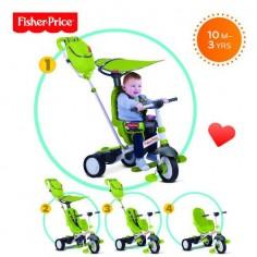 Fisher-Price - Tricicleta 3 in 1 Charisma Verde