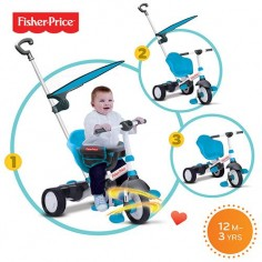 Fisher-Price - Tricicleta 3 in 1 Charm Albastra