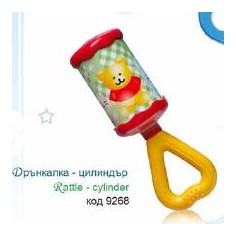 Baby Care - Jucarie zornaitoare butoias