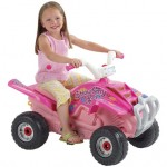 Falk - Atv cu Pedale Quad Strawberry