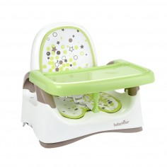 Baby Moov - Booster compact, pliabil almond-taupe