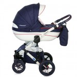 Krausman - Carucior 3 in 1 Poema Navy