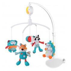 Carusel muzical Baby Ono cu prindere universala Charlie si prietenii
