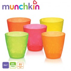 Munchkin - Set 5 pahare colorate