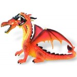 Bullyland - Figurina Dragon orange cu 2 capete