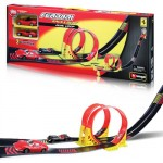 Bburago - FERRARI 1:43 DUAL LOOP PLAY SET