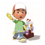 Bullyland - Figurina Manny with toolbox Handy Manny