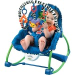 Fisher-Price - Fisher Price Scaun  si Balansoar cu Vibratii 2in1
