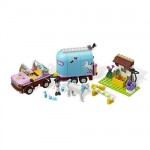 Lego - Friends - Masina de Transportat Cai