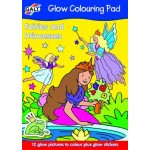 Galt - Carte de colorat - Glow Colouring Book