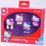 Bullyland - Hello Kitty - set 4 figurine