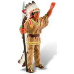 Bullyland - Figurina Indian capetenie