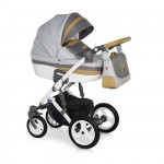 Krausman - Carucior 3 in 1 Zen Grey-Brown
