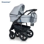 Krausman - Carucior Trend Light Grey Prestige