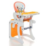 Krausman - Scaun de masa multifunctional Lofty Orange