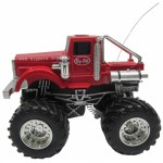 BigBoysToy - Mini Monster Truck Big Pete  cu telecomanda