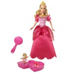 Barbie - Barbie printesa Genevie rosie