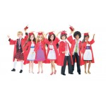 Disney Princess - High School Musical papusi absolventi cu haine de bal