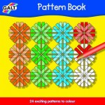 Galt - Carte de colorat cu modele simple si complexe - Pattern Book