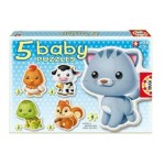 Educa - Puzzle Bebe cu Animale