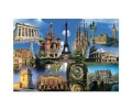 Educa - Puzzle Collage Europe 2000 de Piese