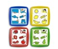 MINILAND Group - Puzzle Educativ Set de 4
