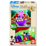 Educa - Puzzle Mickey Mouse Club House 2 x 9