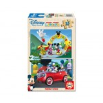 Educa - Puzzle Mickey Mouse House Club 2 x 25