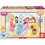 Educa - Puzzle Printesele Disney 2 x 16