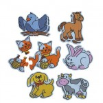 MINILAND Group - Puzzle Tematic cu Animale 3-5 Piese