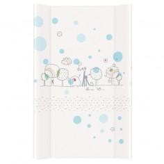 Saltea de infasat cu intaritura Lovely World Albastru 70x50 cm