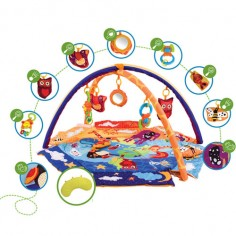 KinderKraft - Salteluta de activitati Animals Planet