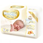 Set 3xServetele umede Huggies Natural Care 56buc