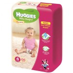 Set 3xServetele umede Huggies Soft Skin 56buc