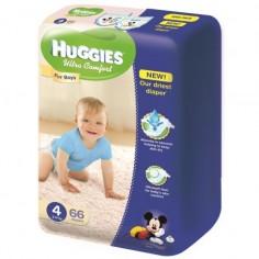 Scutece Huggies Ultra Confort Mega Pack 4 Boy 8-14 Kg 66 buc