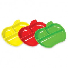 Munchkin - Set 3 farfurii compartimentate