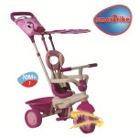 Smart Trike - Tricicleta Safari 4 in 1 Flamingo - Touch Steering