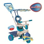 Smart Trike - Tricicleta Safari 4 in 1 Monkey - Touch Steering