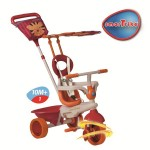 Smart Trike - Tricicleta Safari 4 in 1 Tiger - Touch Steering