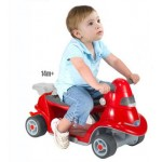 Smart Trike - All-In-One 2 in 1 Rosu
